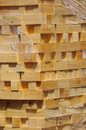 Stacked wood pine timber 3 Royalty Free Stock Photo