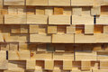 Stacked wood pine timber 2 Royalty Free Stock Photo
