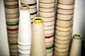 Stacks of Cardboard Cones Royalty Free Stock Photo