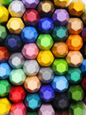 Stacks Of Crayon Royalty Free Stock Photo