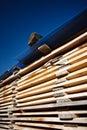 Stacks of planks Stock Photos