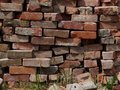 Stacks Of Red Bricks Royalty Free Stock Photo