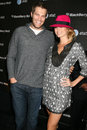 Stacy keibler geoff stults arriving at the blackberry bold event in beverly hills ca on october Royalty Free Stock Photography