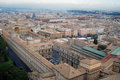 Stad italia roma vatican Royaltyfri Bild