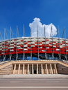 Stade national à Varsovie, Pologne Images stock