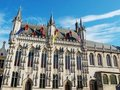 Stadhuis (town hall) in Brugge Royalty Free Stock Photos