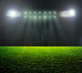 On the stadium abstract football or soccer backgrounds Stock Image