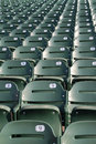 Stadium/Arena Seats Royalty Free Stock Photo