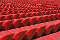 Stadium bleachers Royalty Free Stock Photo