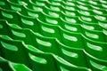 Stadium chairs backs Stock Photography