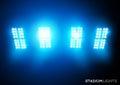 Stadium Lights (Floodlights) Royalty Free Stock Photo