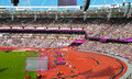 Stadium london paralympics paralympic games all countries Stock Photography