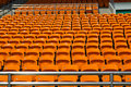 Stadium seat Stock Photos