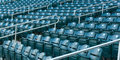 Stadium Seating Royalty Free Stock Photography