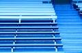 Stadium seating Stock Images