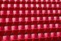 Stadium seating photo of clos up Stock Photos
