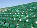 Stadium Seats Royalty Free Stock Images