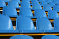 Stadium seats Stock Photography