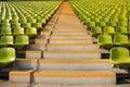 Stadium steps Royalty Free Stock Photos