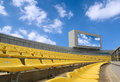 Stadium under the sky Royalty Free Stock Images