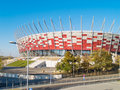 Stadium of Warsaw, Poland Royalty Free Stock Image