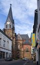 Stadtkirche Friedberg Royalty Free Stock Photo