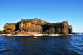 Staffa island inland inner hebrides scotland uk near mull Stock Photo