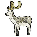 Stag illustration Royalty Free Stock Photo