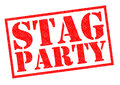 STAG PARTY Royalty Free Stock Photo