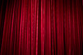 The stage curtain