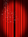 Stage Curtains Stock Photography