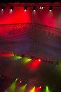 Stage lights abstract background scene Royalty Free Stock Photo