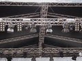 Stage lights used in live gig concert Royalty Free Stock Image