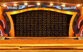 Stage in theater at liner Costa Luminosa Royalty Free Stock Photos