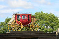 Stagecoach Royalty Free Stock Photography