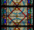 Stain glass window Royalty Free Stock Photo