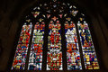 Stain glass windows beautiful of canterbury cathedral each telling a story Stock Photos