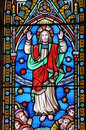 Stained Glass Christ Royalty Free Stock Photos