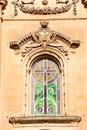 Stained glass church window, Naxxar.