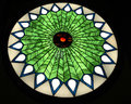 Stained Glass Circle Window Royalty Free Stock Photo