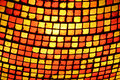 Stained glass close up of a lighting fixture Royalty Free Stock Photography
