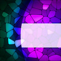 Stained glass design template. EPS 8 Royalty Free Stock Photos