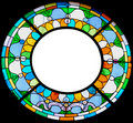 Stained Glass Frame Stock Photos