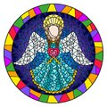 Stained Glass Illustration  Wi...