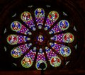 Stained Glass Jesus Disciples The Se Cathedral Lisbon Portugal Royalty Free Stock Photo