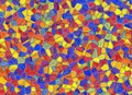 Stained glass multi colored window backgrounds background Stock Photography