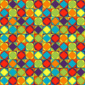 Stained glass pop art pattern Royalty Free Stock Photography