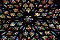 Stained glass in Sainte Chapelle Paris
