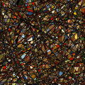 Stained glass texture different orientation. EPS 8 Royalty Free Stock Photos