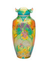 Stained glass vase Royalty Free Stock Photo